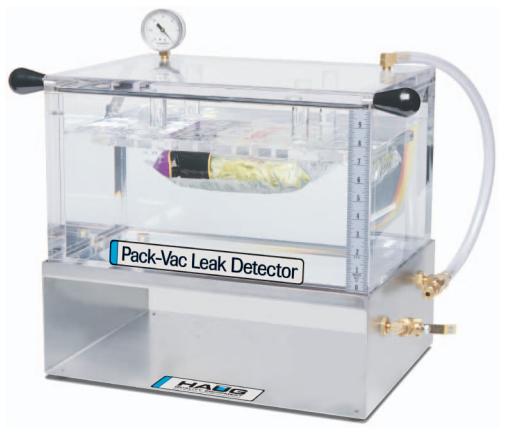 Pack-Vac Leak Detector